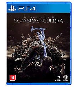 Sombras da Guerra para PS4 + MAPA