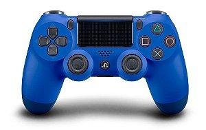 Controle dualshock 4 azul para PS4 ( padrão NOVO )