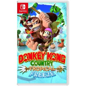 Donkey Kong Contry Tropical Freeze para Nintendo Switch