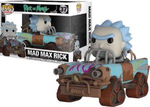 Funko Pop RICK AND MORTY MAD MAX RICK 37