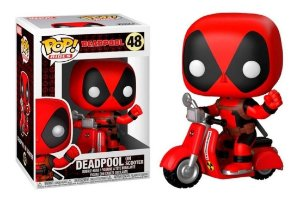 Funko Pop DEADPOOL ON SCOOTER 48