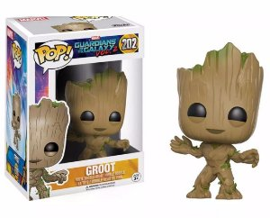 Funko Pop GUARDIANS OF THE GALAXY VOL. 2 GROOT 202