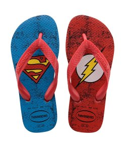 Havaianas Superman e Flash