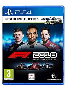 F1 2018 para PS4