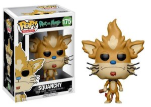 Funko Rick and Morty Squanchy 175