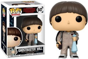 Funko Pop Stranger Things Ghostbusters Will 547