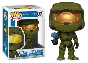 Funko Pop Halo Master Chief With Cortana 07