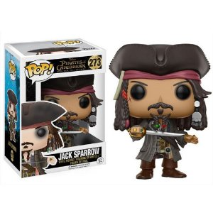 Funko Pop Pirates of the Caribbean Jack Sparrow 273