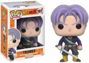 Funko Pop Dragon Ball Z Trunks 107