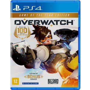 Overwatch para PS4 edição game of the year