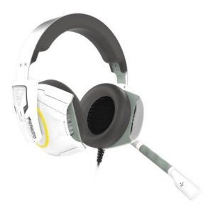 HEADSET GAMER GAMDIAS HEPHAESTUS E1 BRANCO RGB PC/PS4/XBOX ONE