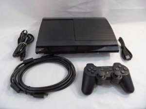 Playstation 3 Super Slim semi novo + 100 Jogos no HD 250GB