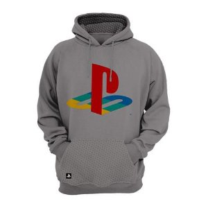 MOLETOM PLAYSTATION - PLAY CLASSIC COLOR HOOD