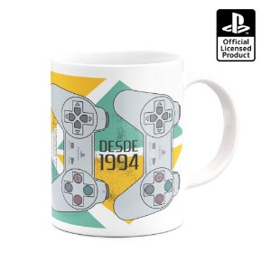 CANECA PLAYSTATION - CONTROLE PS1