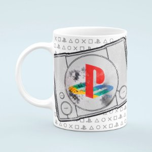 CANECA PLAYSTATION - PS1 PLAY CLASSIC ESTILIZADO