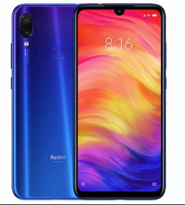 Celular Xiaomi redmi Note 7 4GB-128GB Azul Global