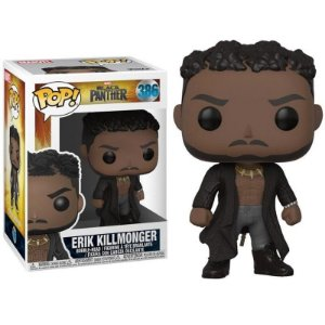 Funko Pop Marvel Black Panther Erik Killmonger 386