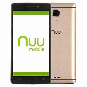 Celular Nuu A4l 5.0 8gb 1gb Ram Dual 4g Lte ( 2 opções de cores )