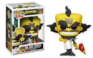 Funko Pop Crash Bandicoot  Dr Neo Cortex 276