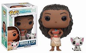 Funko Pop Disney Moana Pua 213