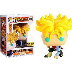 Funko Pop Dragon Ball Super Saiyan Future Trunks **ex** 318