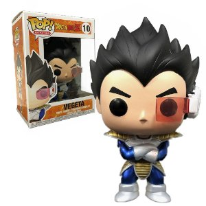 Funko Pop Dragon Ball Vegeta Metallic **ex** 10