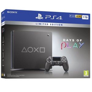 Playstation 4 slim 1TB EDIÇÃO LIMITADA DAYS OF PLAY 2019