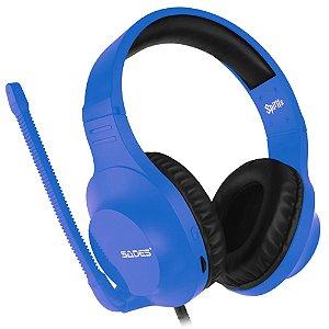 Fone Headset Spirits Sades Azul / Vermelho - PS4 / XBOX ONE / PC