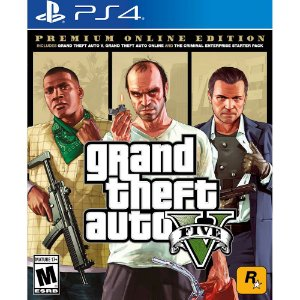 GTA 5 Premium Online Edition para PS4