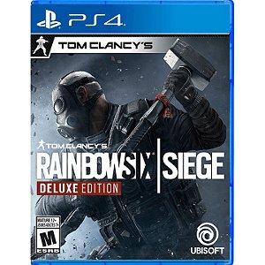 Rainbow Six Siege Edição Deluxe para PS4