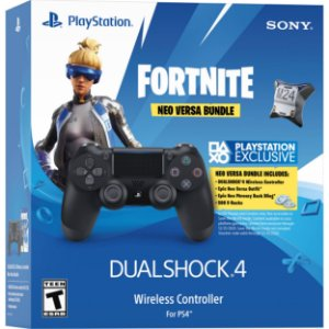 Controle dualshock 4 bundle Neo Versa bundle Fortnite