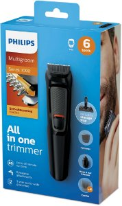 Aparador De Pelos Philips Multigroom Serie 3000 - Mg3712/15