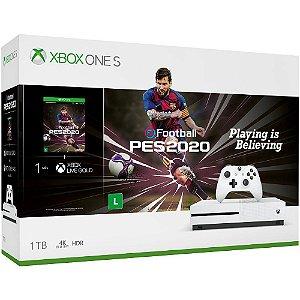 Xbox One S 1 Tb C/ Jogo Pes 2020