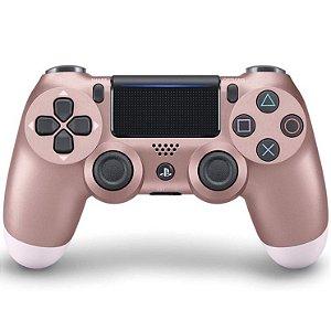 Controle dualshock 4 Rose para PS4 ( padrão NOVO )