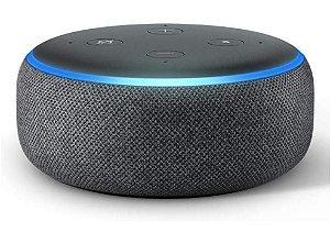 Echo Dot 3° Alexa Português - Br, Lacrado, 3 Opções De Cores