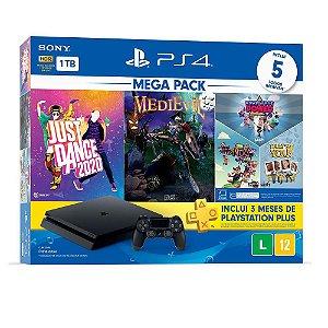 Playstation 4 SLIM 1TB  + 5 Jogos + PLUS 3 meses
