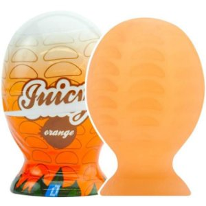 Masturbador masculino laranja - orange juicy funzone
