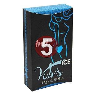 KIT05 - Vulv's ice - estimulante com feromônio feminino - 4x1 Refresca, Estimula, Excita, Lubrifica