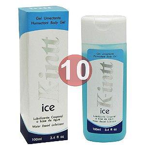 KIT10 - Lubrificante k-intt ice  - ação refrescante