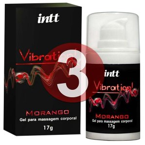 KIT03 - Vibration morango - vibrador líquido