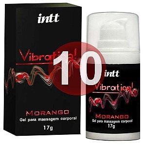 KIT10 - Vibration morango - vibrador líquido