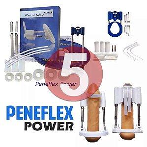 KIT05 - Peneflex power - desenvolvedor tensor extensor peniano por tração até 26cm