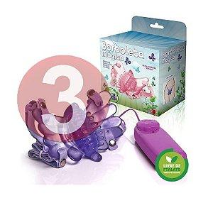 KIT03 - Borboleta vibradora lilás