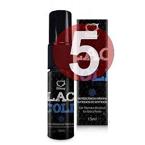 KIT05 - BLACK COLD SEXO ORAL REFRESCANTE 15ML