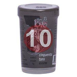 KIT10 - BOLINHA DO SEXO - CINQUENTA TONS ESCUROS