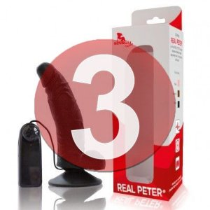 KIT03 - REAL PETER curvo com vibrador
