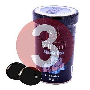 KIT03 - Bolinha comestível Ice - Black Ice