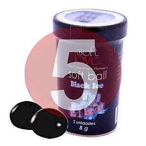 KIT05 - Bolinha comestível Ice - Black Ice