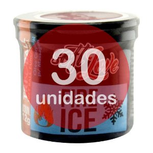 KIT30 - BOLINHA DO SEXO - FUNCIONAL FIRE & ICE (ESQUENTA E ESFRIA)