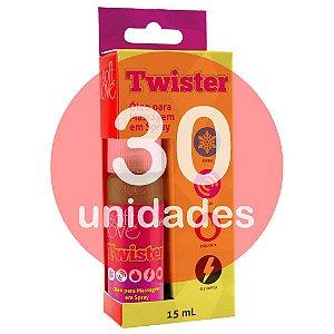KIT30 - TWISTER JATO 15ML - ESTIMULADOR DE ORGASMO FEMININO